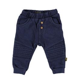 BESS Pants Jogdenim Kneepad Stone wash