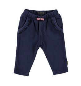 BESS Pants Jogdenim Ruffles Stone wash
