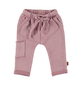 BESS Pants Oilwash Dusty rose