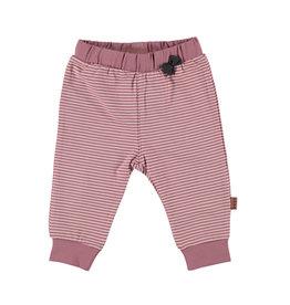 BESS Pants Striped Pinstripe Pink