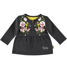 BESS Shirt l.sl. Roses Antracite