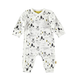 BESS Suit AOP Forest White