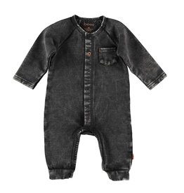 BESS Suit Jogdenim Black denim
