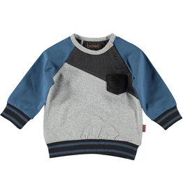 BESS Sweater Diagonal Grey