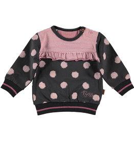 BESS Sweater Dots Antracite