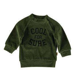 BESS Sweater Velvet Olive