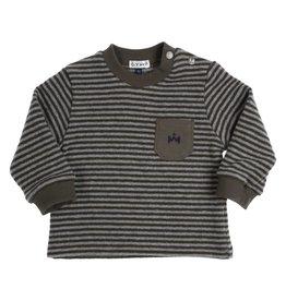Gymp Lakes Sweater Kaki /Grijs