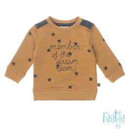 Feetje Sweater Member - Lucky Star Camel