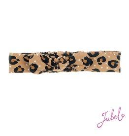 Jubel Haarband - Leopard Lipstick Khaki