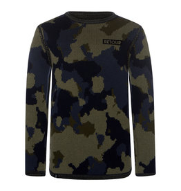 Retour Cas Sweater 6085 Mid army