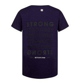 Retour Melvin T-shirt 7080  Deep purple