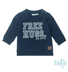 Feetje Sweater Free Hugs - Smile