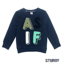 Sturdy Sweater As If - Tuning Vibes Marine