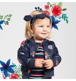 Quapi Mini Haarband Venice 1 Navy flower