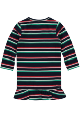 Quapi Mini Venity Jurk Navy stripe