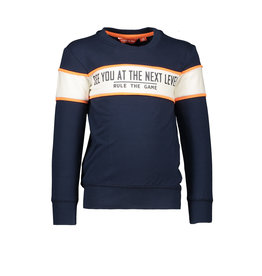 Tygo & vito Sweater solid cut & sewn SEE YOU AT THE NEXT LEVEL 190 Navy