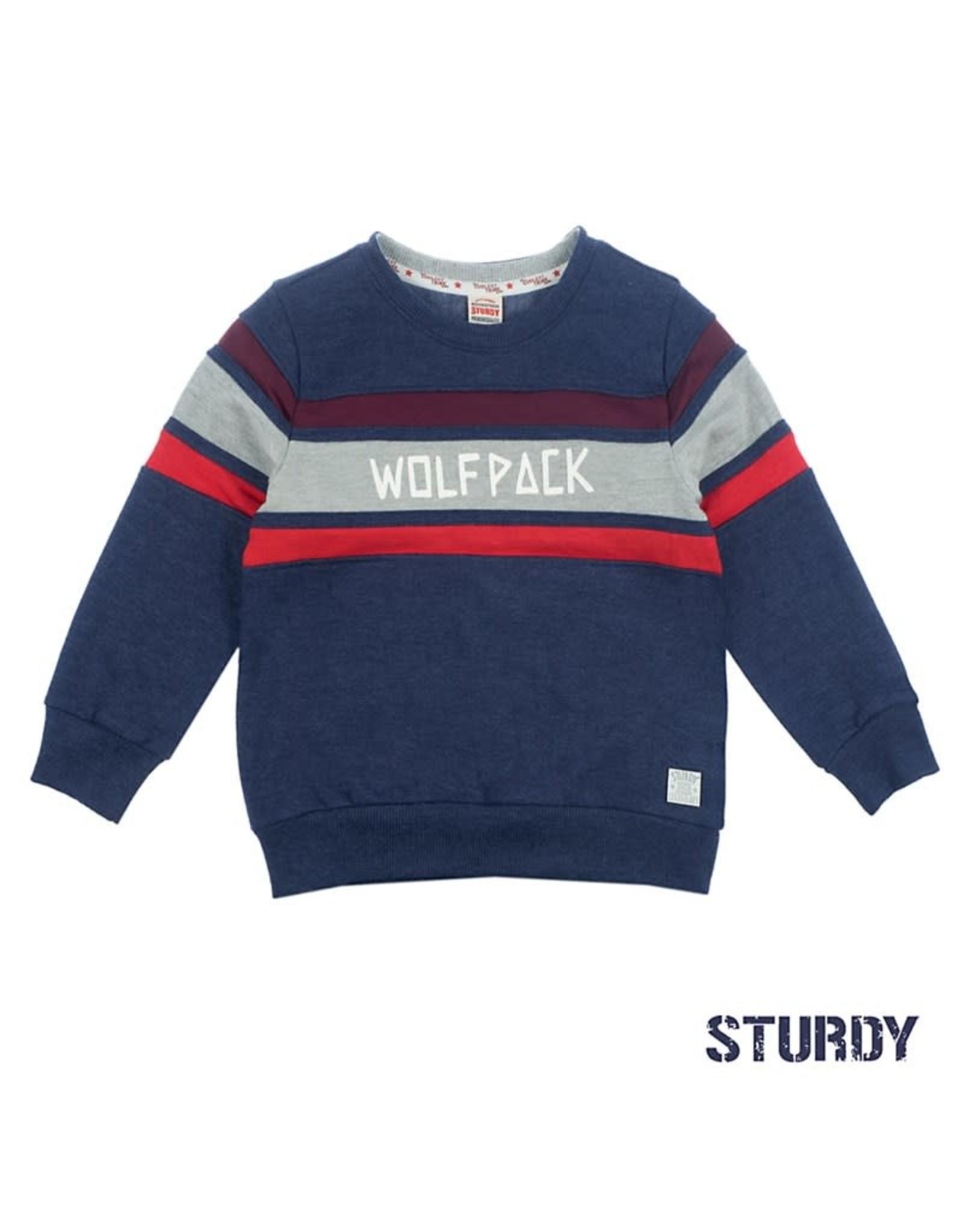 Sweater Wolf Pack Good Fellows Marine Bij Broer & Zus