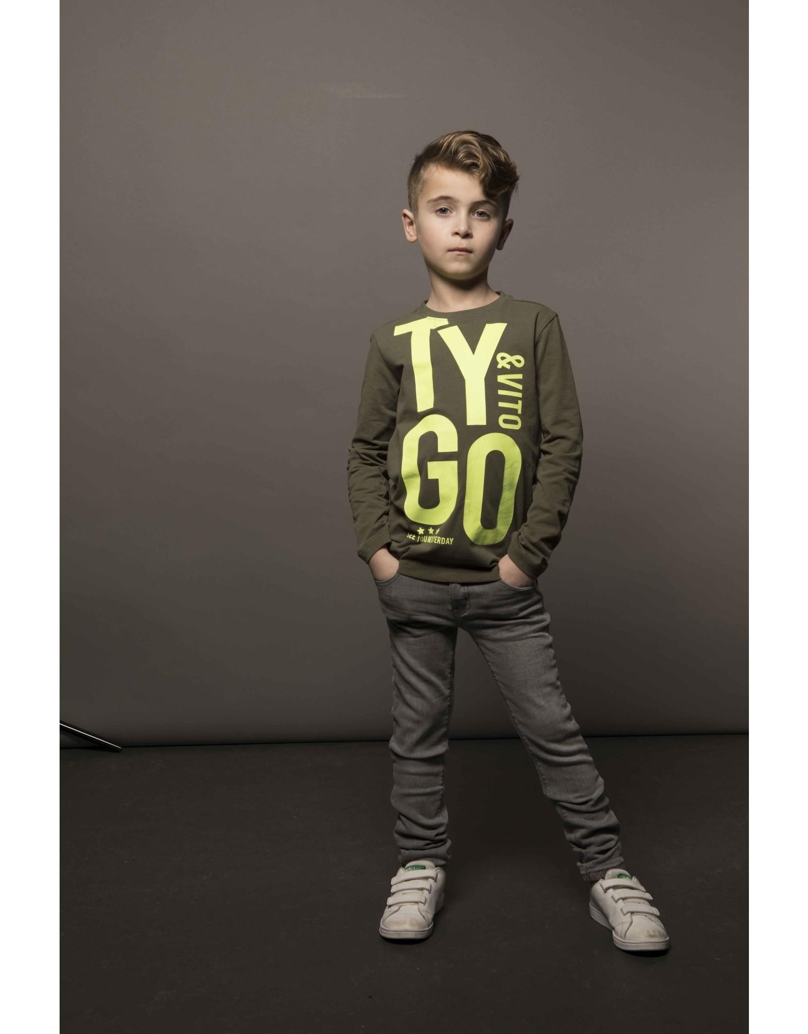 Tygo & vito Jeans skinny, color, extra soft &stretchy 365 D.army