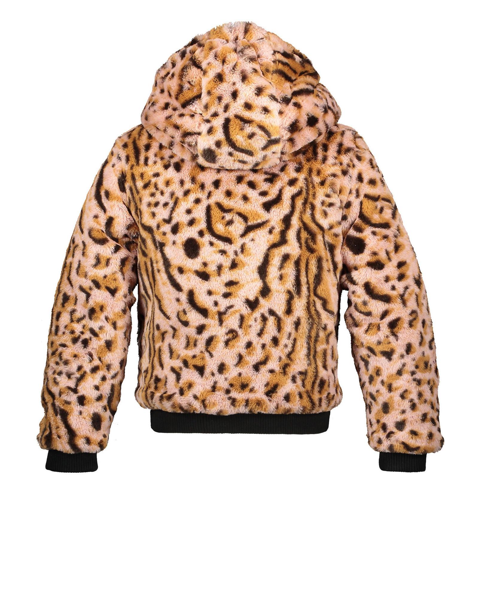 Moodstreet Metallic Jacket fancy fur light pink