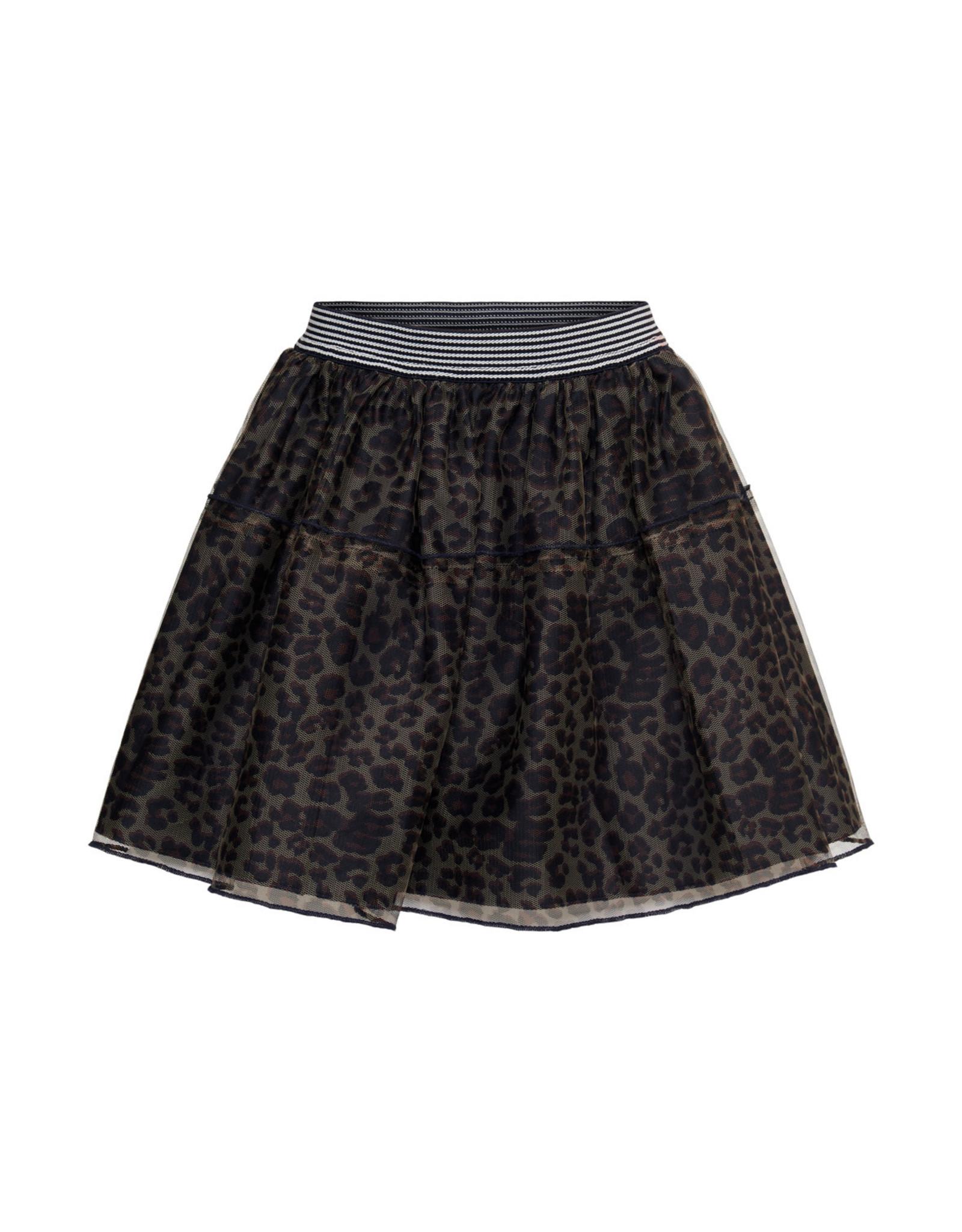 Topitm Mesh Skirt Carina AOP Animal