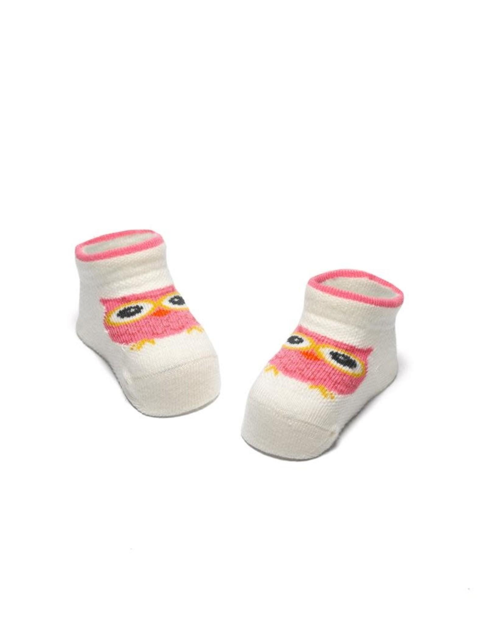 Bonnie Doon Cute Owl New Born Pink
