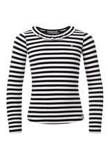 Looxs Longsleeve Fancy stripe black white
