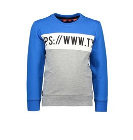 Tygo & vito Sweater cut & sewn 150 Cobalt