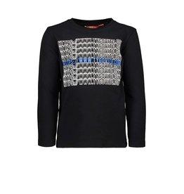 Tygo & vito T-shirt LS  099 Black