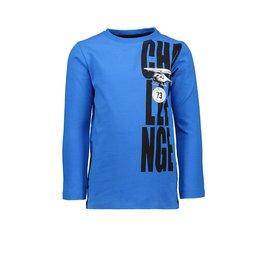 Tygo & vito T-shirt LS CHALLENGE neon 150 Cobalt