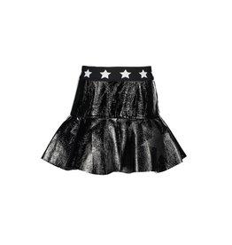 B-nosy Rok with ruffle on hem, star elastic 99 Black