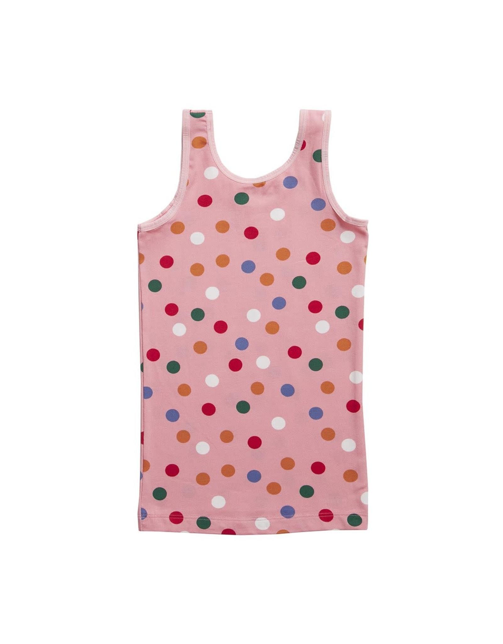 Ten Cate Basic Girls Shirt Dots Pink