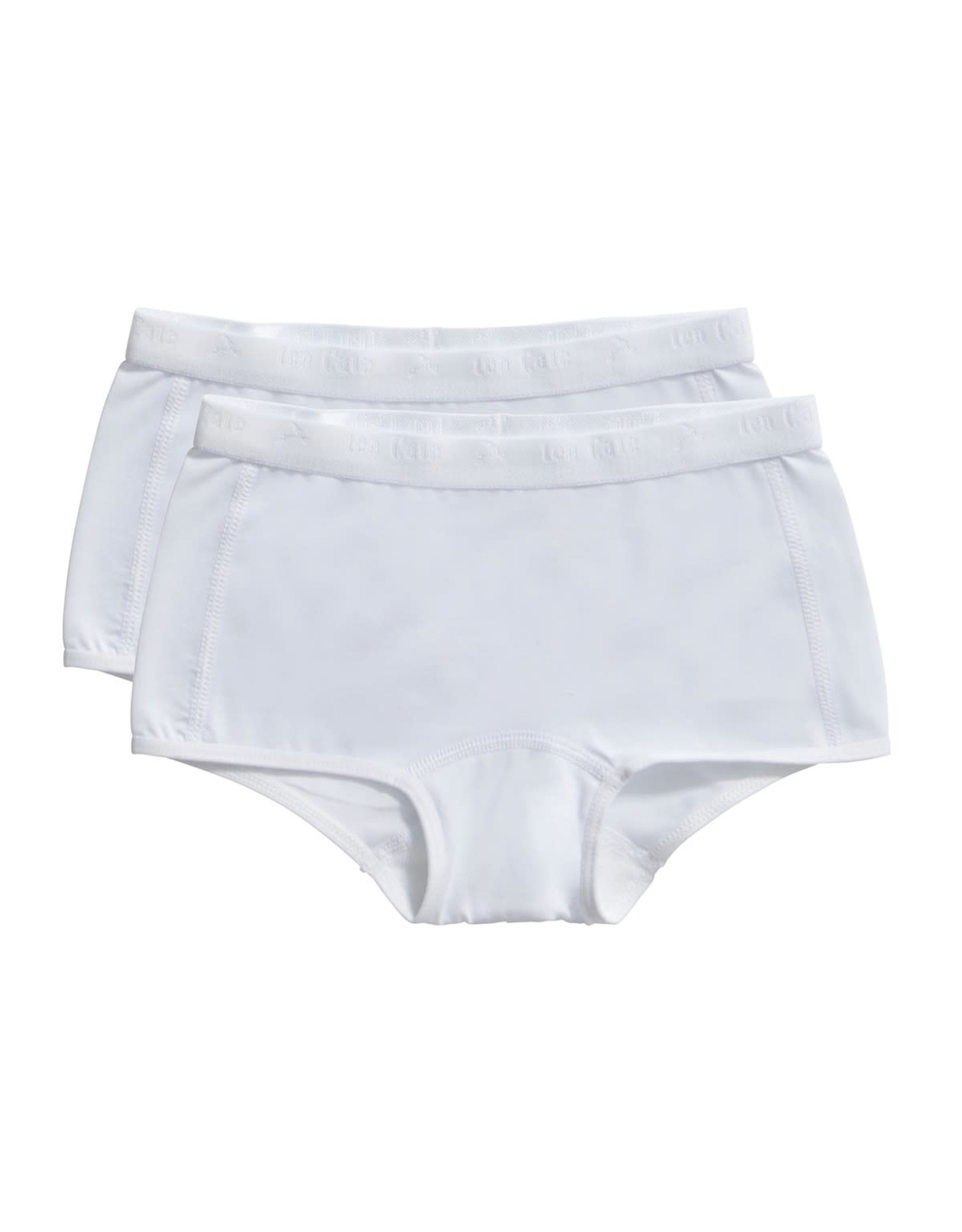 Ten Cate Basic girls shorts 2 pack white