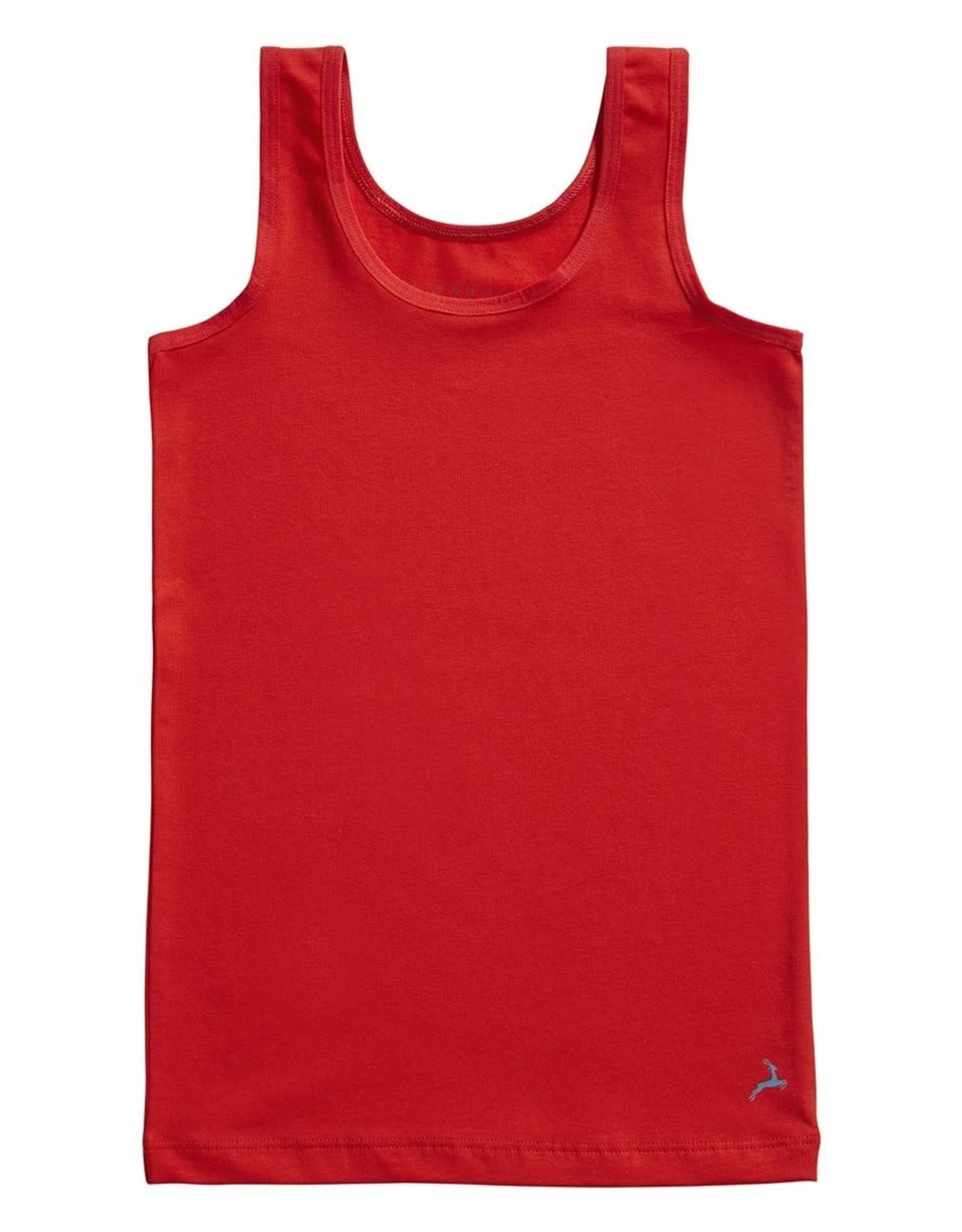 Ten Cate Basic girls shirt flame scarlet