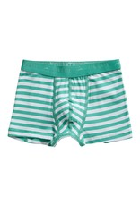 Ten Cate Basis boys shorts 2 pack stripe and mint