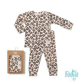 Feetje Pyjama Leopard Lizzy Perzik