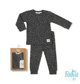 Feetje Pyjama Panther Paul Grijs melange