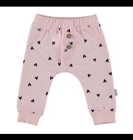 BESS Pants Hearts pink