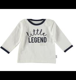 BESS Shirt l.sl. Little legend white NOS