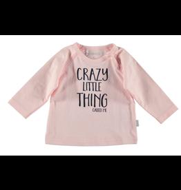 BESS Shirt l.sl. Girl crazy little thing pink