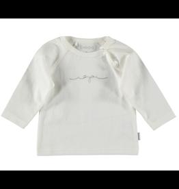 BESS Shirt l.sl. Iloveyou white NOS