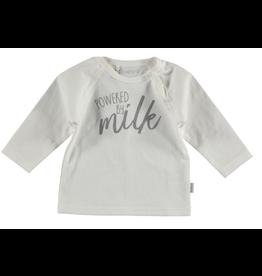 BESS Shirt l.sl. Powered by milk white