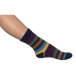 Bonnie Doon Colourfull stripe sock