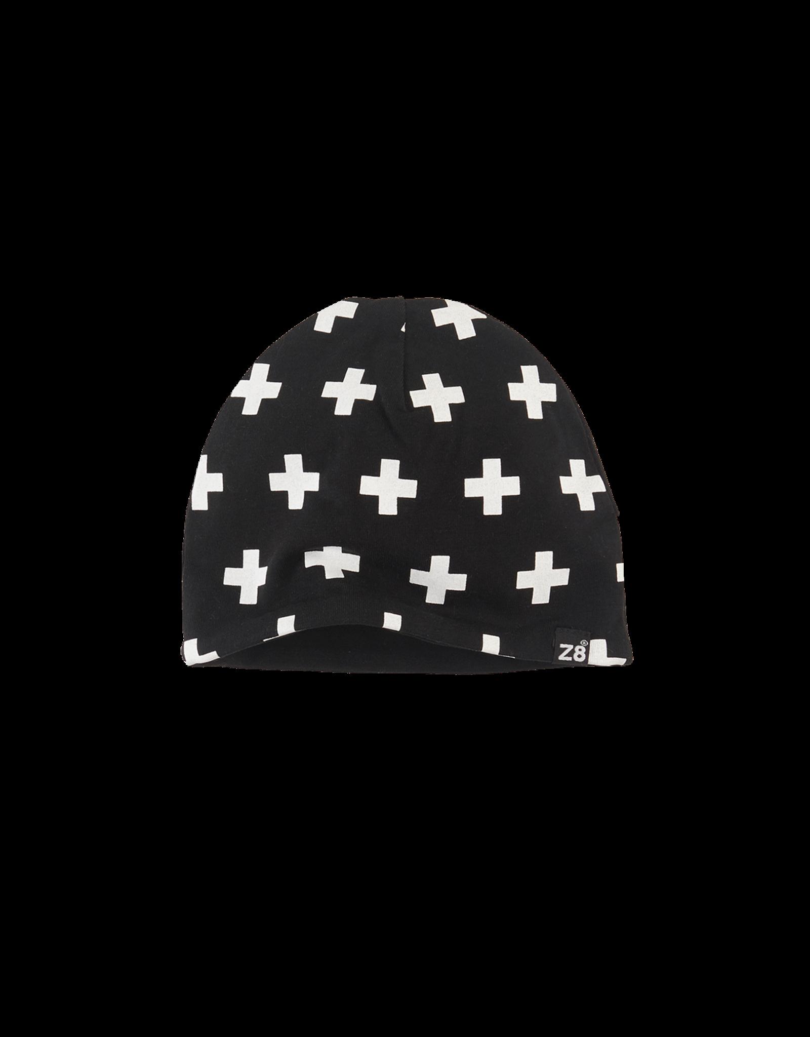 Z8 Cat Black/White/Crosses