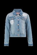 Vingino Talia Jeans jack 158 Light vintage