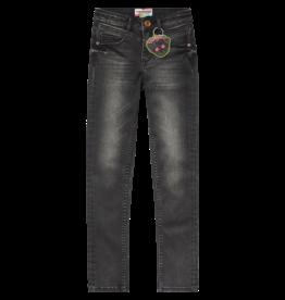 Vingino Babelyn Jeans 913 Dark grey vintage super skinny
