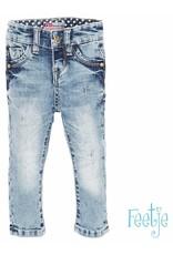 Feetje Broek light blue denim slim fit 991