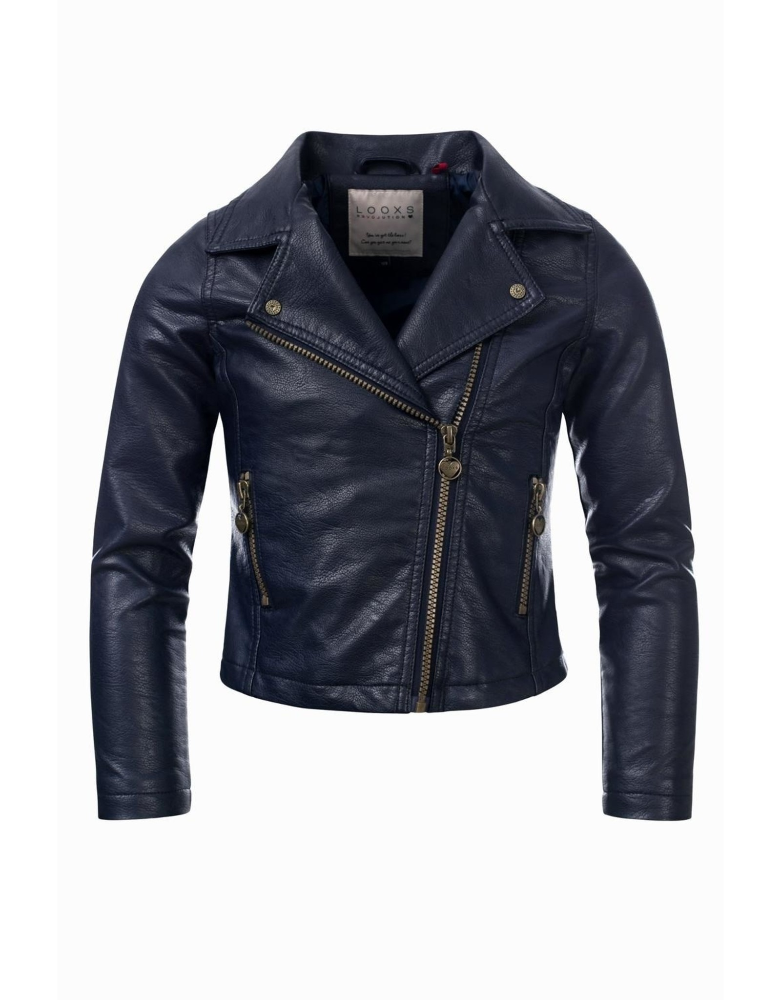 Looxs Jack Leather look Oxford blue