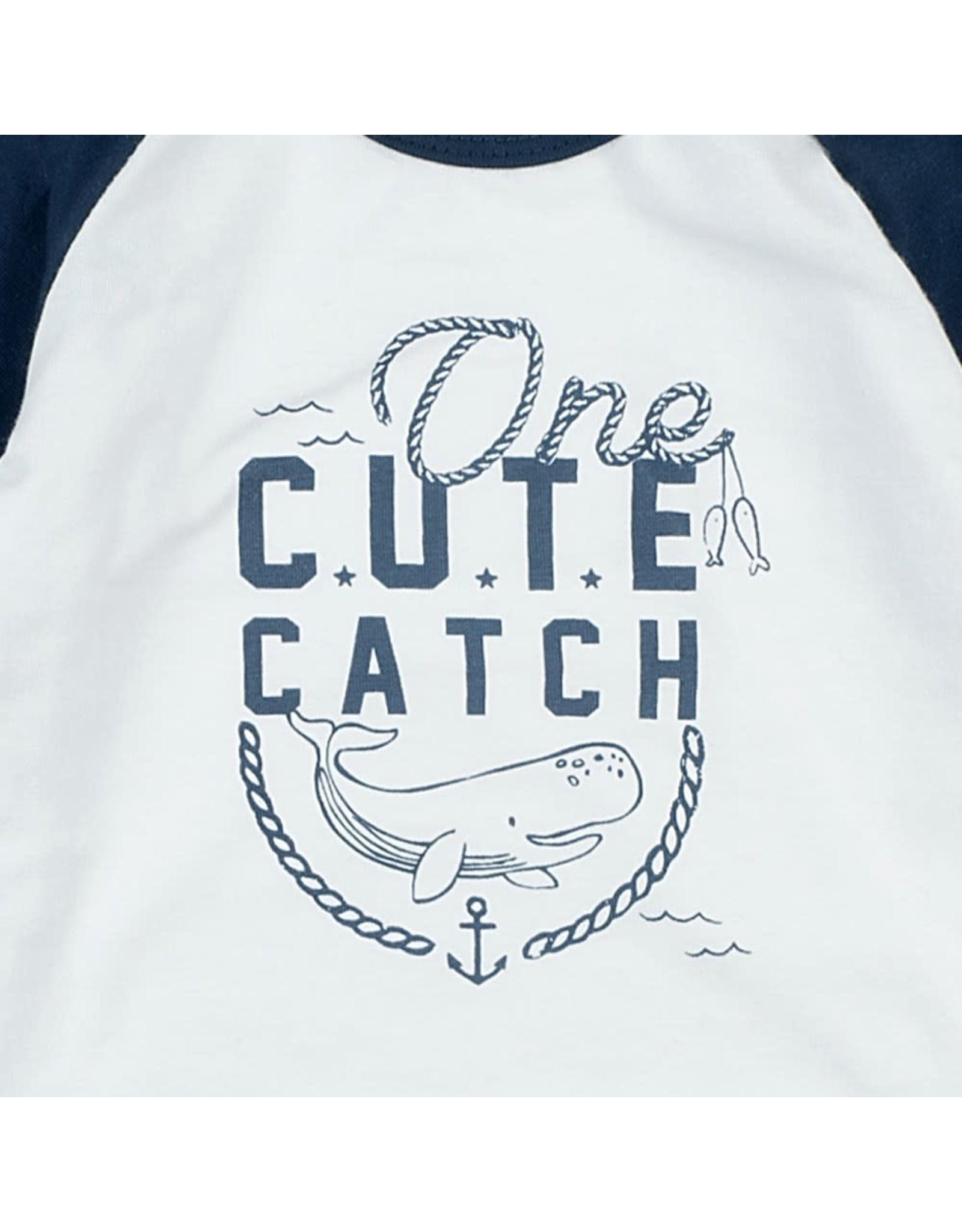 Feetje Longsleeve One Cute Catch - Mr. Good Looks Wit