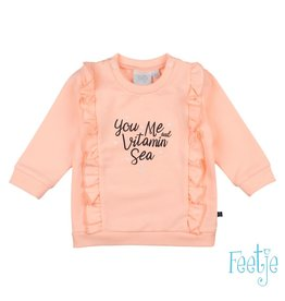 Feetje Sweater - Sailor Girl Roze