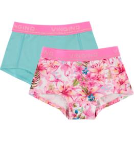 Vingino G 121-8 Tropical 2-Pack 500 Neon Pink